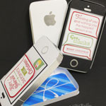 iPhone Gift Card Holder