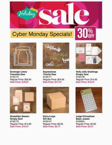 Cyber Monday SU Specials