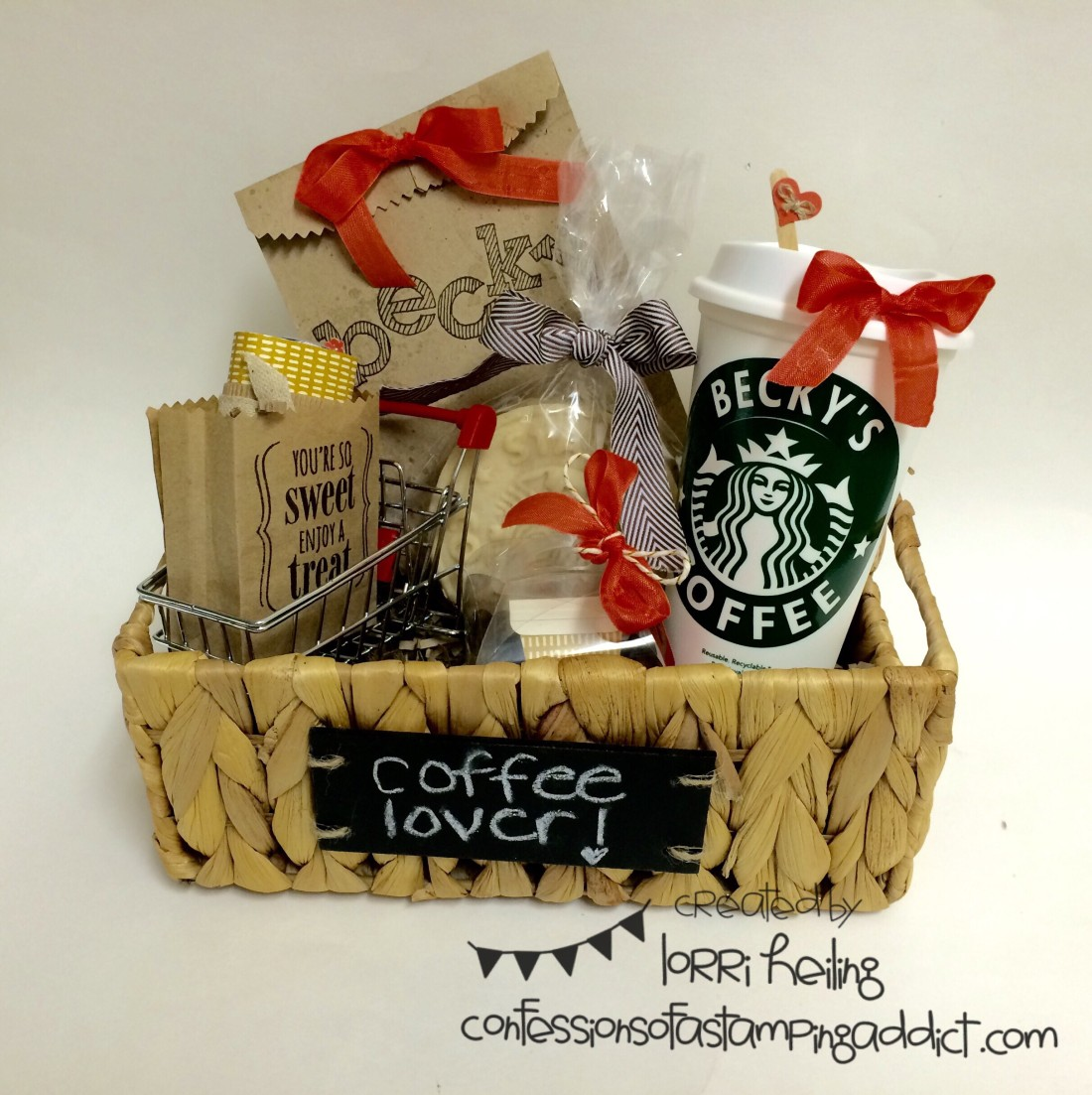 More Founder S Circle Photos Coffee Themed Gift Confessions Of A Stamping Addict
