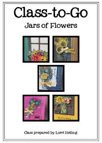 Jars of Flowers PDF Tutorial – $10