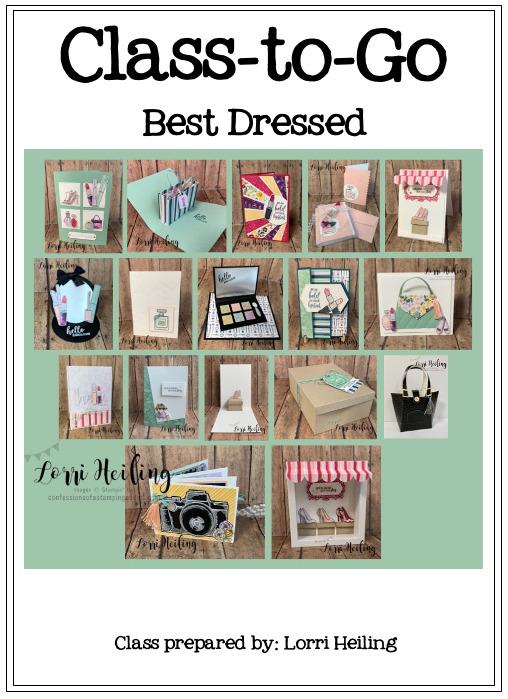 Best Dressed PDF Tutorial – $19.95