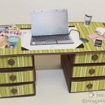 Miniature Desks Tutorial For Sale!