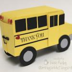 School Bus Gift Card Holder!