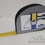 UNIQUE Tape Measure Gift Card Holder